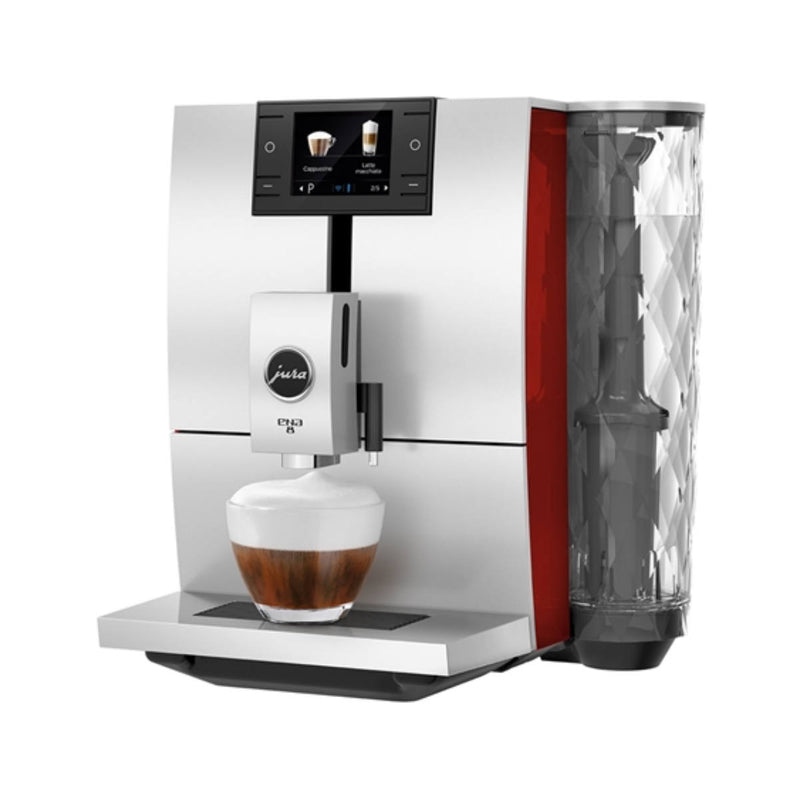 Jura ENA 8 Super Automatic Coffee & Espresso Machine (Sunset Red)