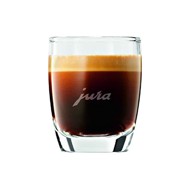 JURA Crystal Espresso Cups (Set of 2 Gift Box Set)