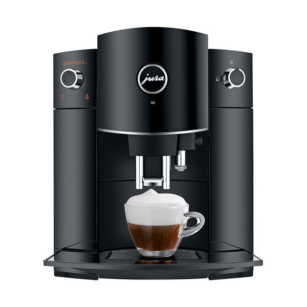 Jura D6 Super Automatic Espresso Machine Piano Black