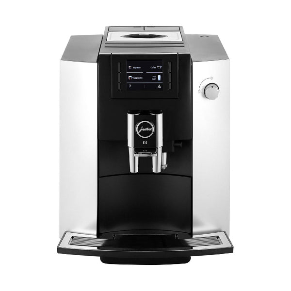 Jura E6 Super Automatic Espresso Machine Platinum