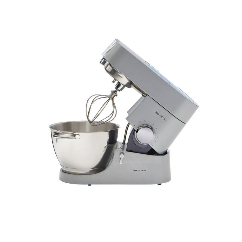 Kenwood Chef Titanium KMC011 Stand Mixer & Kitchen Machine (4.7L / 5.0QT)