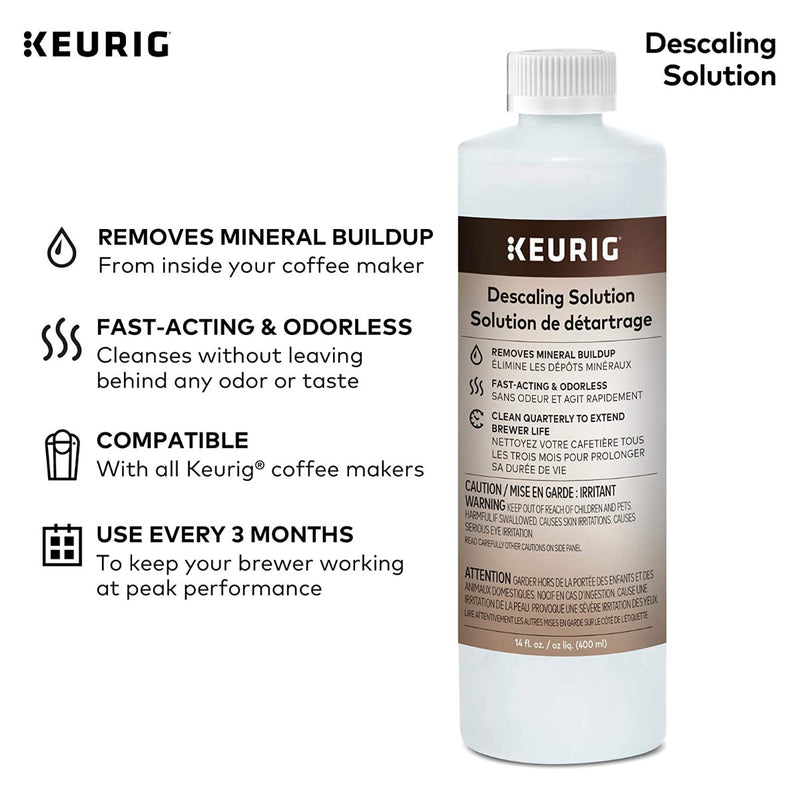 Keurig Descaling Solution Bulk Value Pack (1.2L / 42oz)