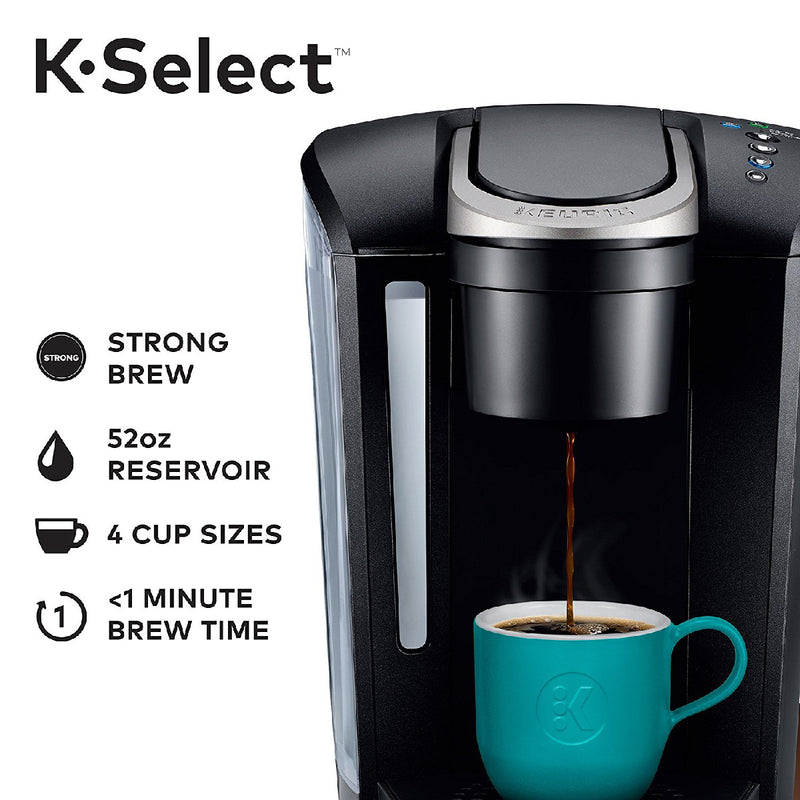 Keurig K-Select™ Single Serve Coffee Maker (Matte Black)
