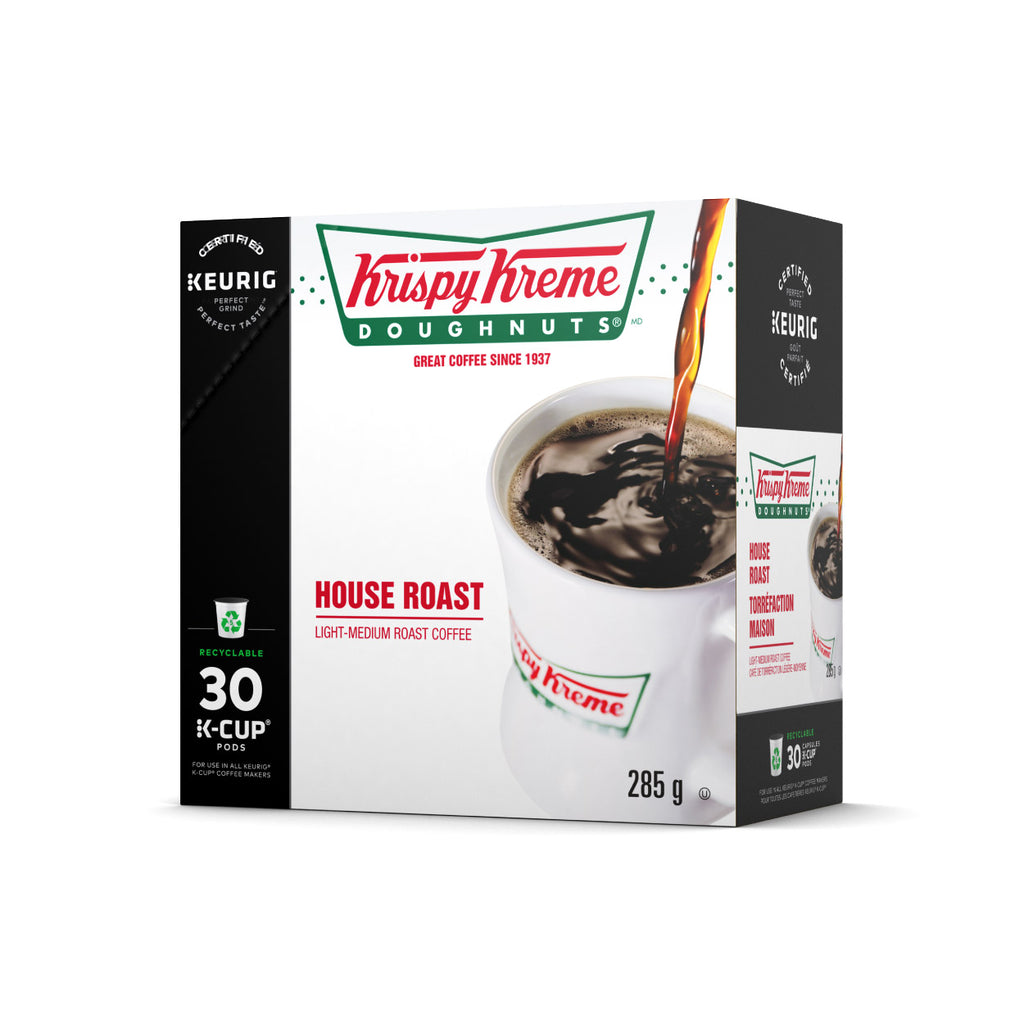 Krispy Kreme Doughnuts® House Roast K-Cup® Pods (Box of 30)
