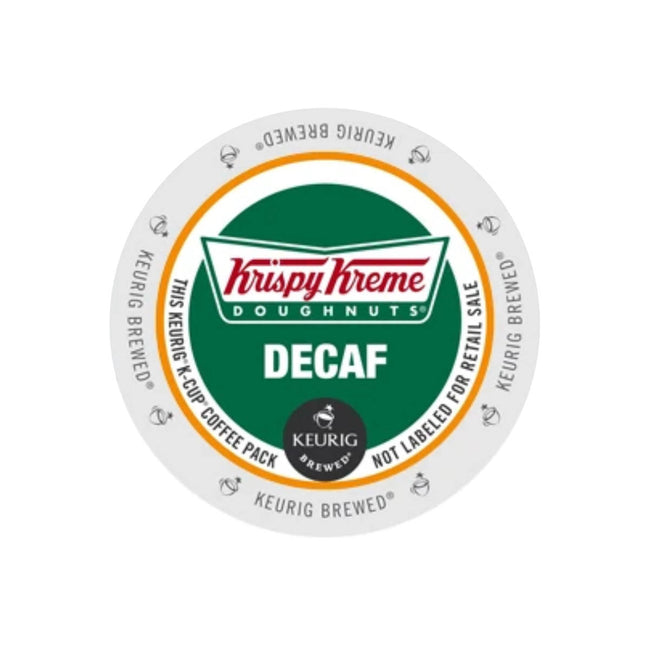 Krispy Kreme Doughnuts® Decaf K-Cup® Pods (Box of 24)