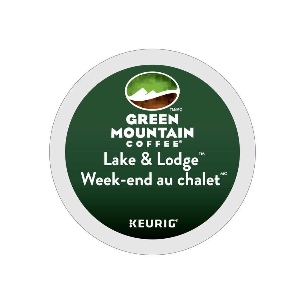 Green Mountain Lake & Lodge Weekend Au Chalet K-Cup® Pods (Case of 96)