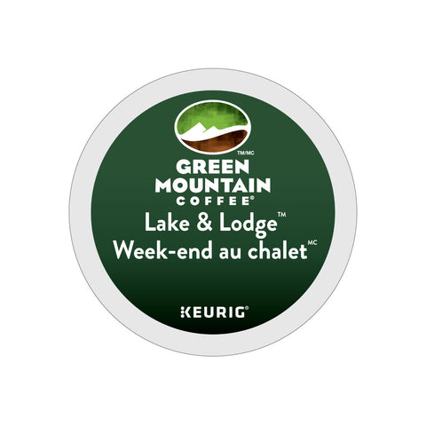 Green Mountain Lake & Lodge Weekend Au Chalet K-Cup® Pods (Box of 24)