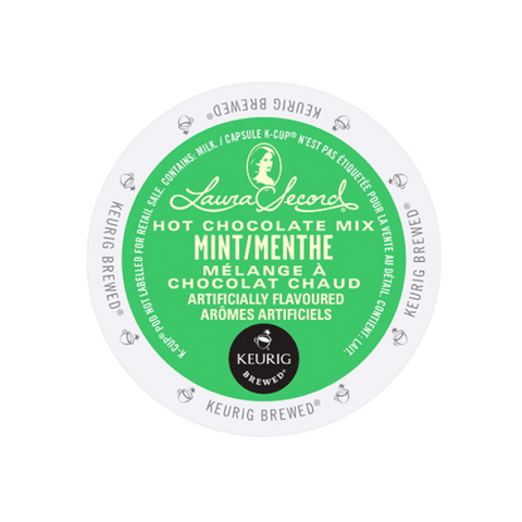 Laura Secord Mint Hot Chocolate K-Cup® Pods (Box of 24)