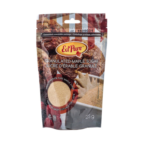 ExlPure Maple Sugar - 125g Bag