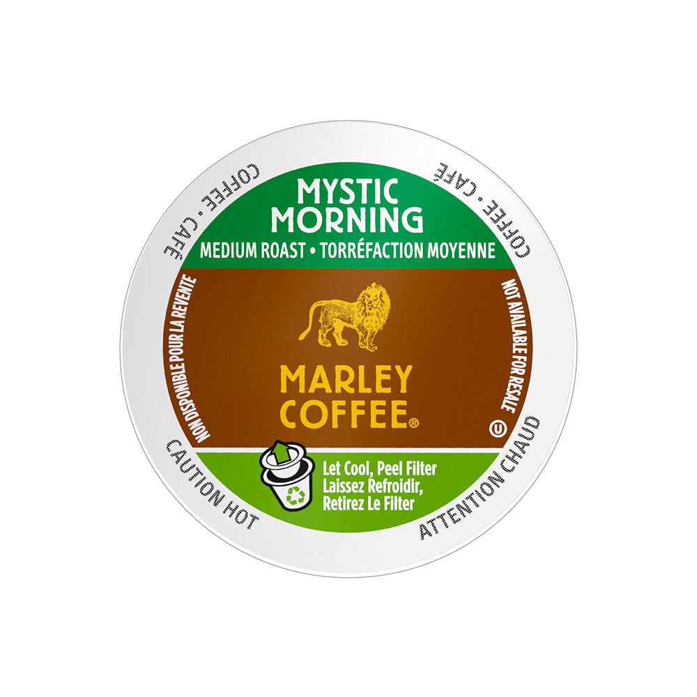 Marley Coffee Mystic Morning Single Serve Coffee Pods (Box of 24)