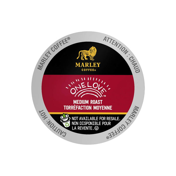 Marley Coffee One Love Single Serve Coffee Pods Lid