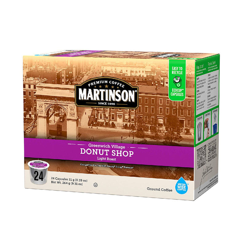 Martinson Coffee Donut Shop Single Serve Pods (Case of 96)