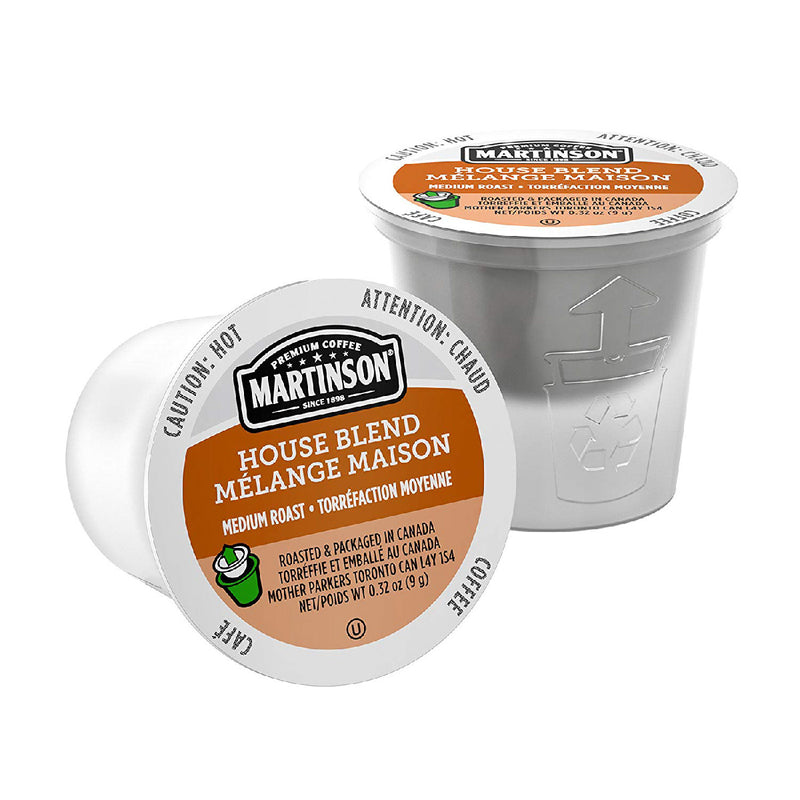 Martinson Coffee House Blend Single Serve Pods (Case of 96)