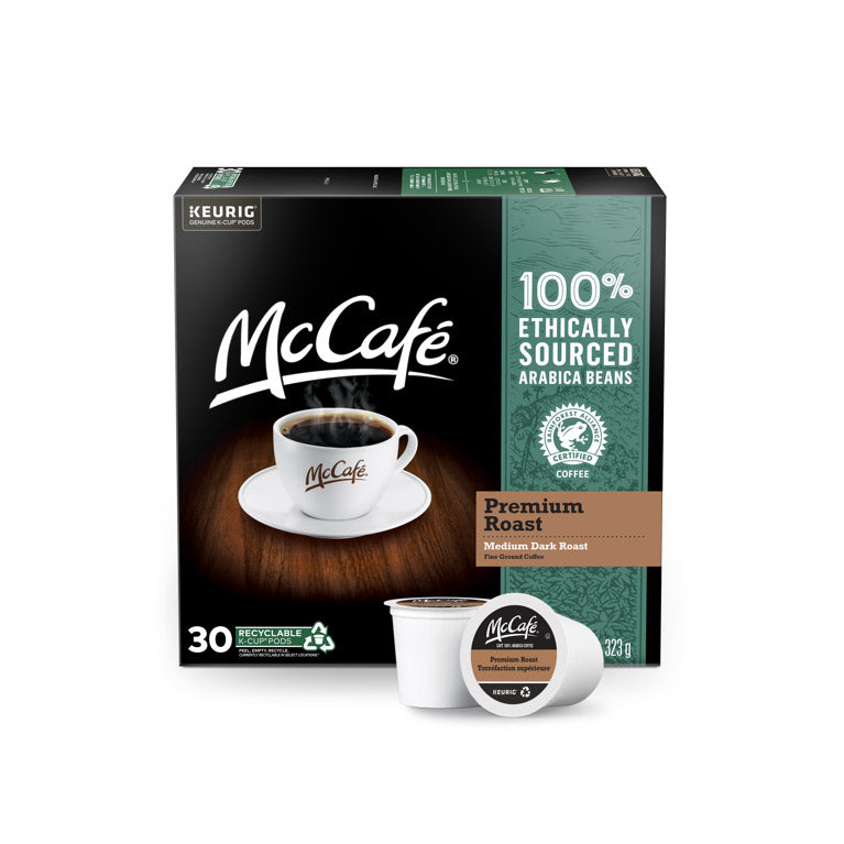 McCafé Premium Roast K-Cup® Recyclable Pods (Case of 120)