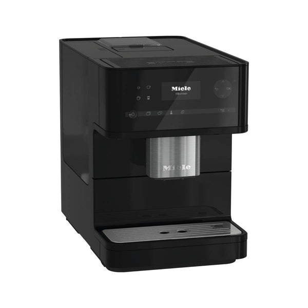 Miele CM6150 Super Automatic Countertop Coffee & Espresso Machine (Obsidian Black)
