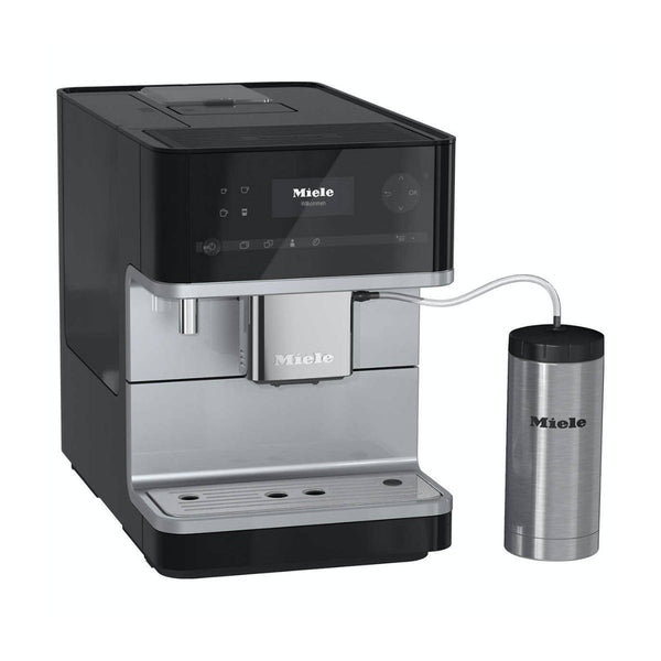 Miele CM6350 Super Automatic Countertop Coffee & Espresso Machine (Obsidian Black)