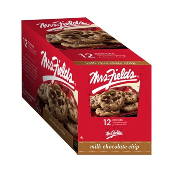 Mrs. Fields Milk Chocolate Chip (12 Individually Wrapped Cookies)