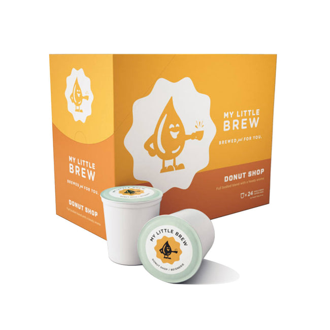 My Little Brew Donut Shop Single-Serve Coffee Pods (Case of 96)