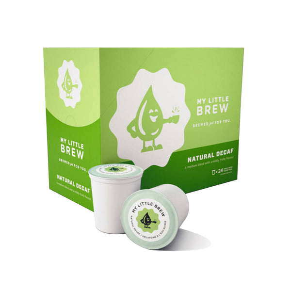 My Little Brew Natural Decaf Single-Serve Coffee Pods (Case of 96)