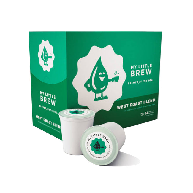My Little Brew West Coast Single-Serve Coffee Pods (Case of 96)