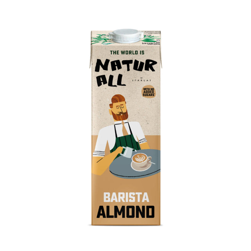 Natur All Barista Almond Milk (Case of 6)