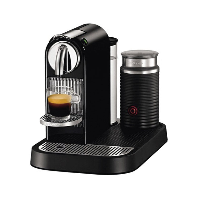 Nespresso Citiz & Milk Coffee & Espresso Machine (Black with Aeroccino Frother)