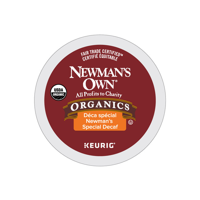Newman's Own Organics Newman's Special Decaf K-Cup® Pods (Case of 72)