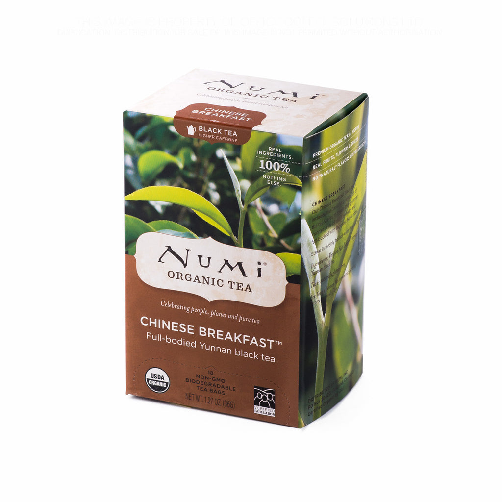 Numi Organic Tea: Chinese Breakfast Tea Bags