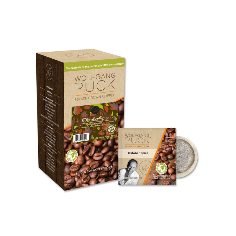 Wolfgang Puck: Oktober Spice Pods (18 Pack)