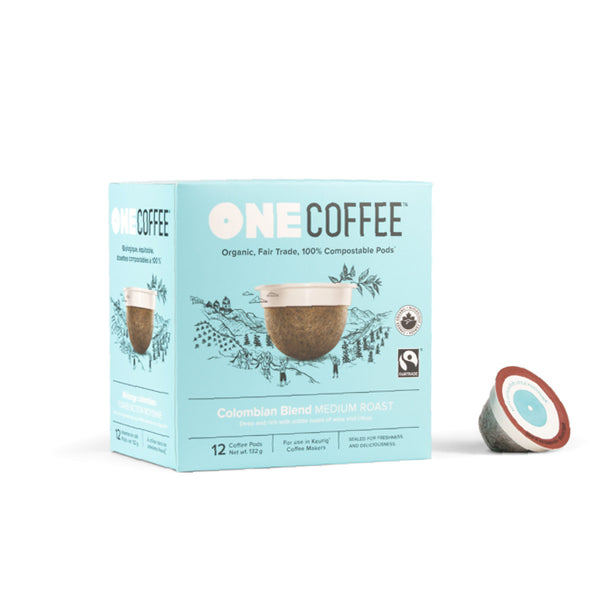 OneCoffee Colombian Blend Single-Serve Pods (Box of 18)