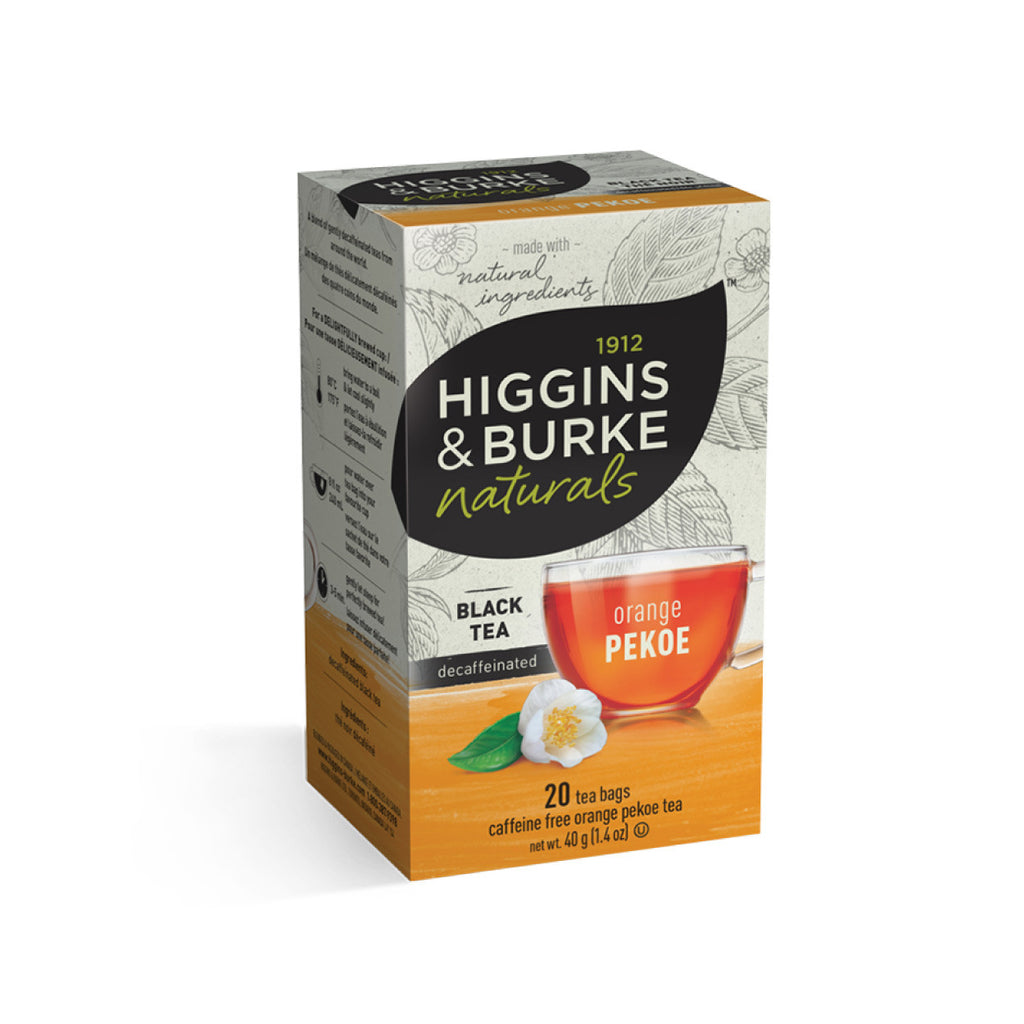 Higgins & Burke Decaf Orange Pekoe Tea Bags (Box of 20)