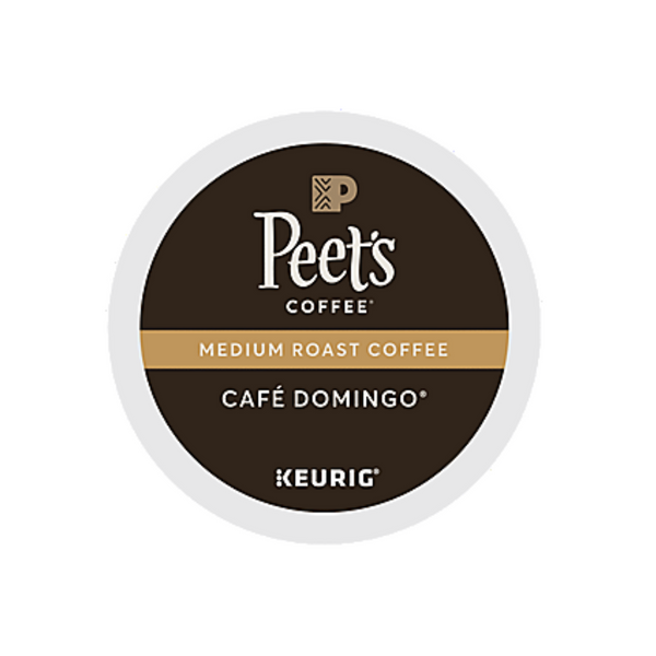 Peet's Coffee Cafe Domingo K-Cup® Pods (Case of 60)