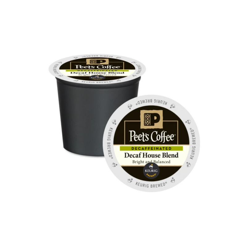 Peet's Coffee Decaf House Blend K-Cup® Pods (Case of 60)