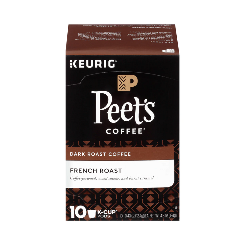 Peet's Coffee French Roast K-Cup® Pods (Box of 10)