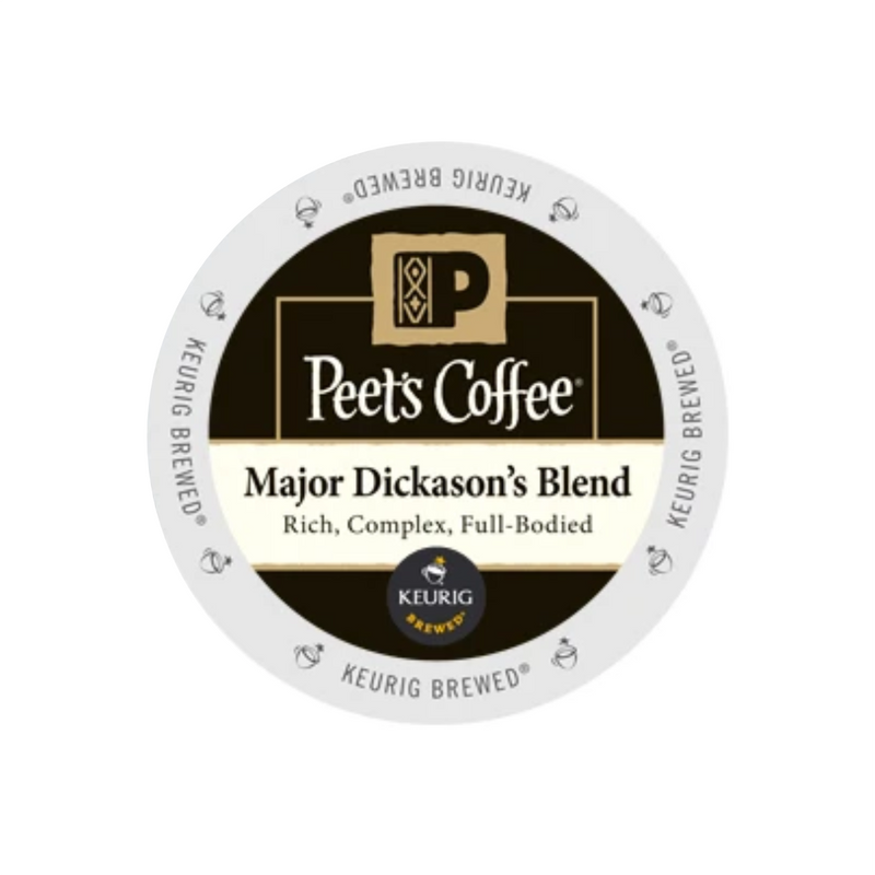 Peet's Coffee Major Dickason's Blend K-Cup® Pods (Box of 10)