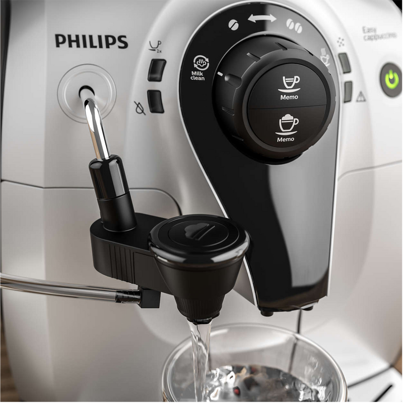 Philips 2100 Series Easy Cappuccino Super Automatic Espresso Machine HD8652/14