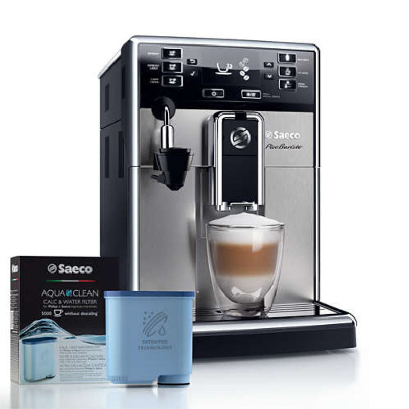 Saeco PicoBaristo Stainless Steel HD8924/47 Super Automatic Espresso Machine (Filter Included)