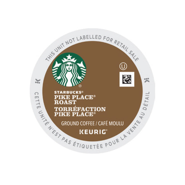 Starbucks Pike Place Roast K-Cup® Pods (Box of 24)