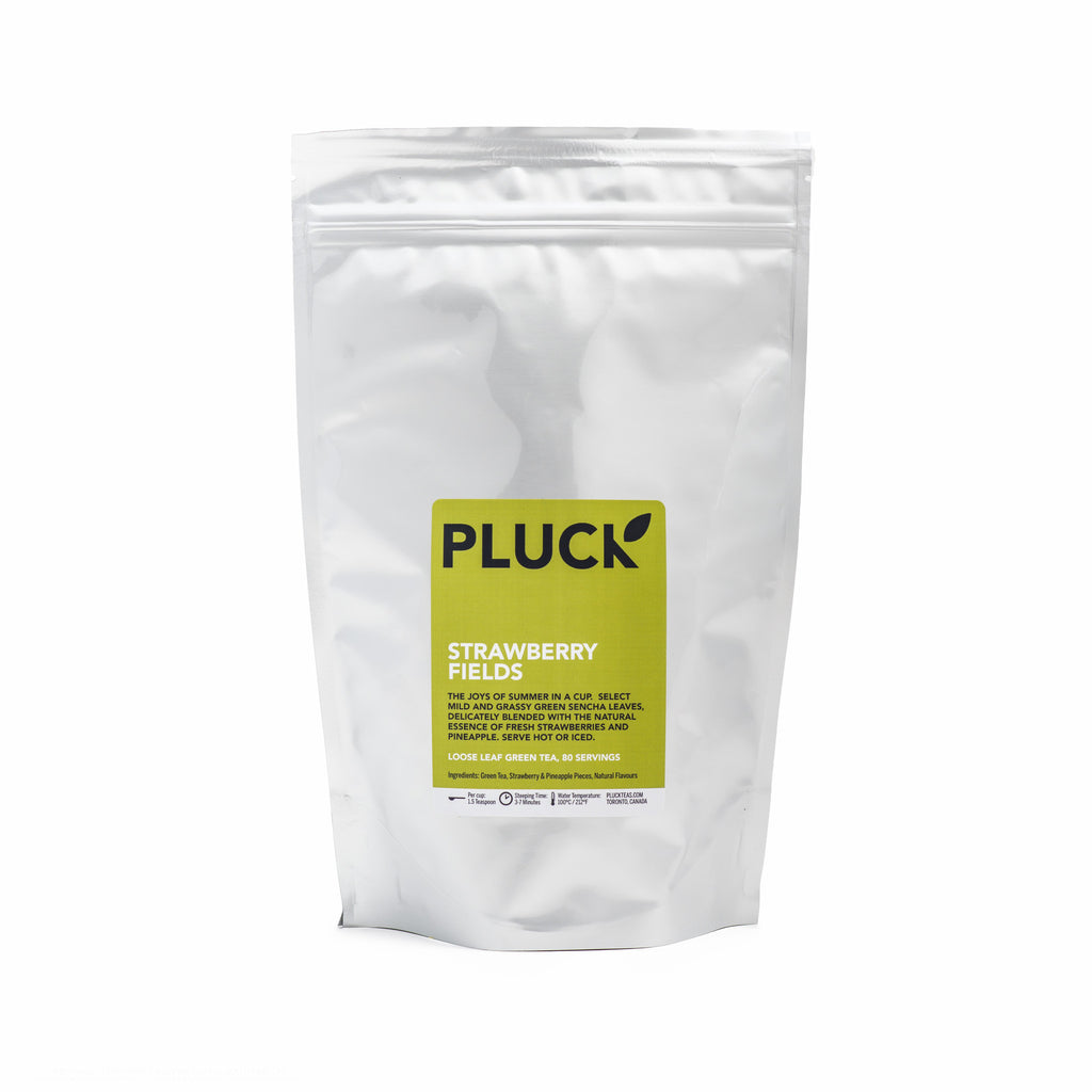 Pluck Strawberry Fields Loose Leaf Tea