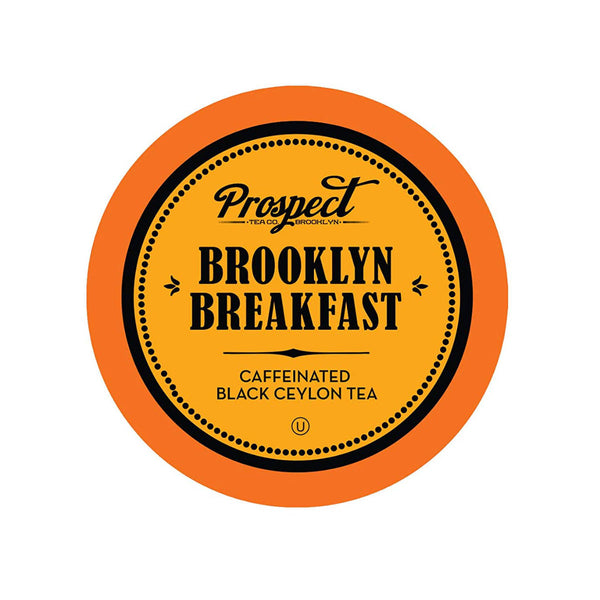 Prospect Tea Brooklyn Breakfast Single-Serve Pods (Box of 24)