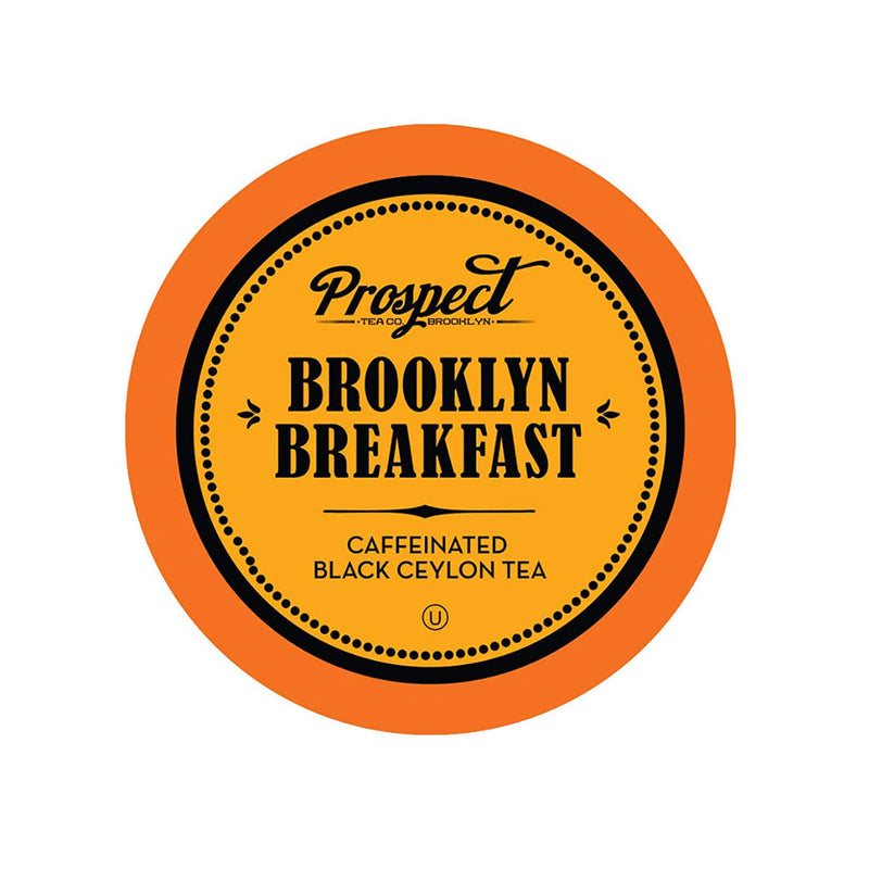 Prospect Tea Brooklyn Breakfast Single-Serve Pods (Case of 96)
