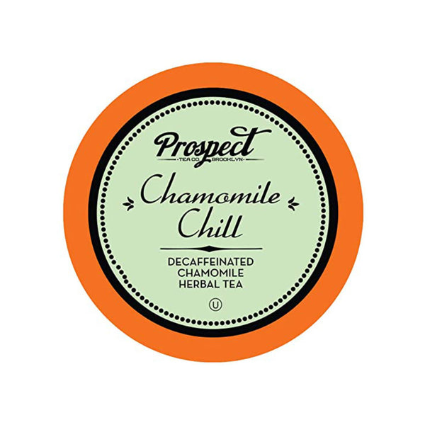 Prospect Tea Chamomile Chill Single-Serve Pods (Box of 24)