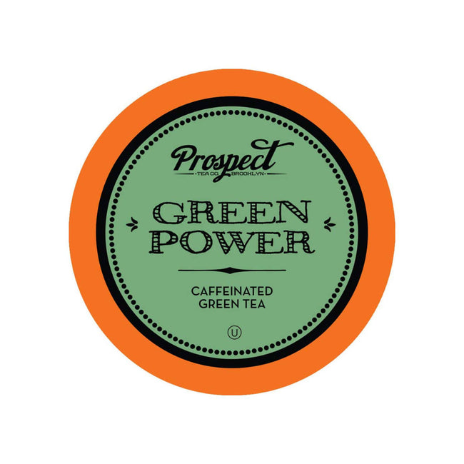 Prospect Tea Green Power Single-Serve Pods (Box of 24)