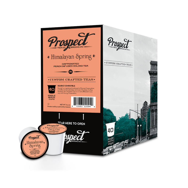 Prospect Tea Himalayan Spring Single-Serve Pods (Case of 96)