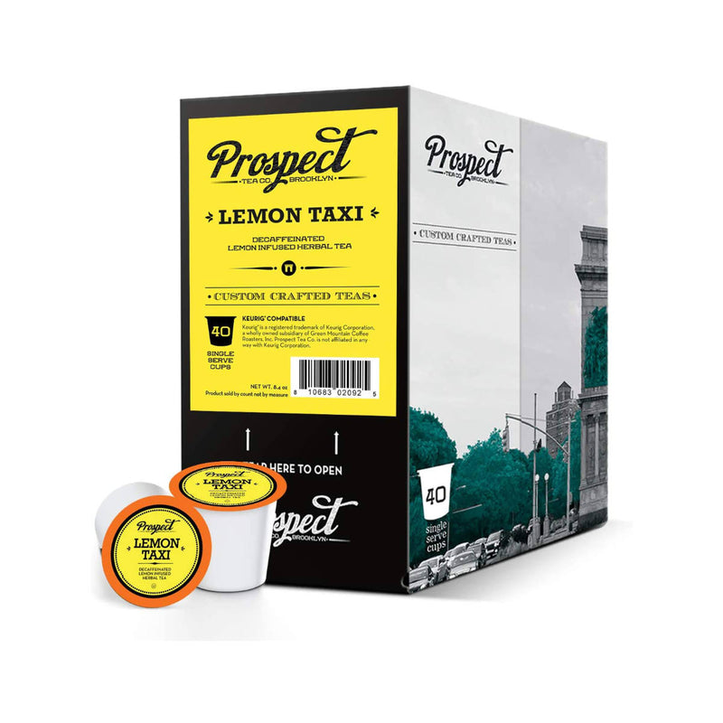 Prospect Tea Lemon Taxi Single-Serve Pods (Box of 24)