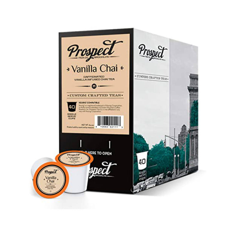 Prospect Tea Vanilla Chai Single-Serve Pods (Case of 96)