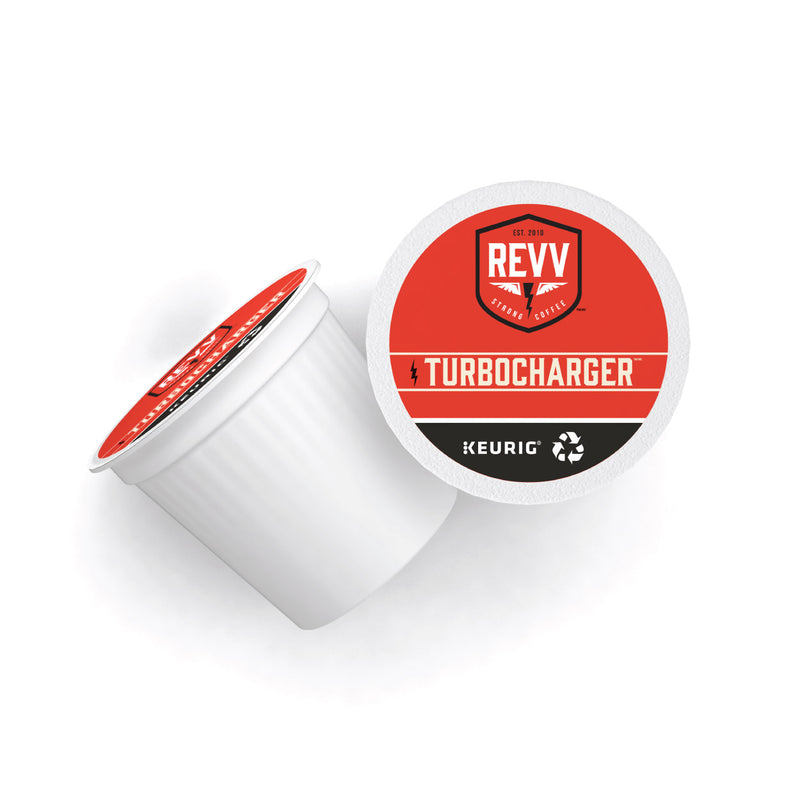 REVV® TURBOCHARGER K-Cup® Pods (Box of 24)