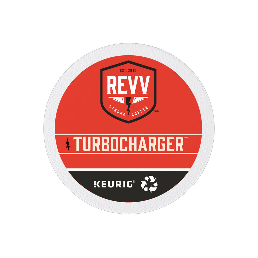 * NEW * REVV® TURBOCHARGER K-Cup® Pods (Case of 96)