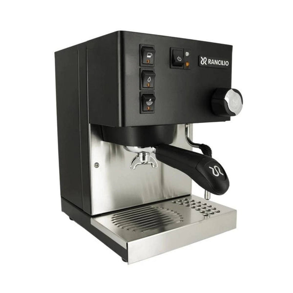 Rancilio Silvia M V6 (2020) Espresso Machine (Limited Edition Black and Stainless Steel)