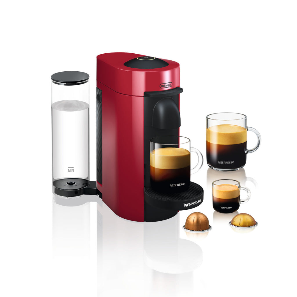 Nespresso by DeLonghi VertuoPlus Brewer Red